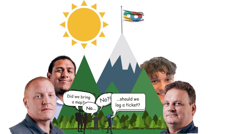 First Solution: Three Peaks Challenge