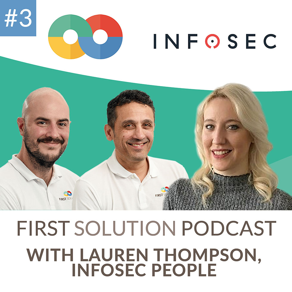 First Solution podcast episode 3!