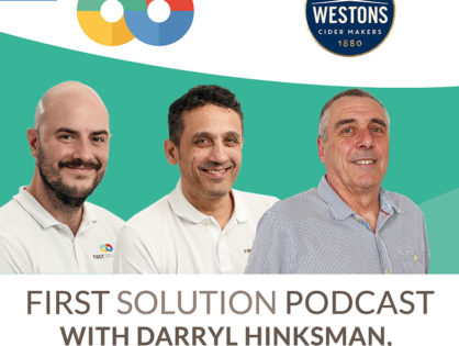 Episode 4 of the First Solution Podcast is out now!